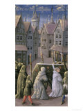 "Burial Procession, from the ""Book of Hours of Louis D'Orleans"", 1469 Giclee Print by Jean Colombe"