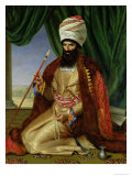 Portrait of Asker-Khan, Ambassador of Persia, in Paris in 1808, 1809 Giclee Print by Cesarine Davin