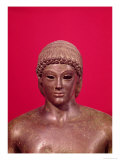 The Apollo of Piombino, Detail of the Head of the Statue, Found in Benevento, Greek, circa 480 BC Giclee Print