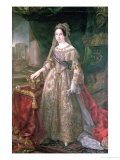 Queen Isabella II 1843 Giclee Print by Vicente Lopez y Portana