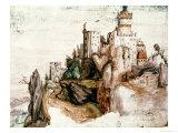 Fortified Castle Giclee Print by Albrecht Dürer