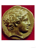 Stater of Philip II King of Macedonia, with an Effigy of Apollo, 356-336 BC Giclee Print