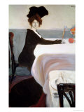 The Luncheon Premium Giclee Print by Leon Bakst
