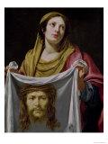 St. Veronica Holding the Holy Shroud Giclée-Druck von Simon Vouet