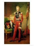 Louis-Charles-Philippe of Orleans Duke of Nemours, 1833 Giclee Print by Anton van Ysendyck