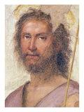 St. John the Baptist Giclée-tryk af Fra Bartolommeo