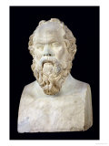 Bust of Socrates Giclee Print by  Lysippos