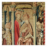 St. Peter Placing the Papal Tiara on the Head of St. Clement, from 'The Life of St. Peter' Giclee Print by  French