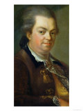 Portrait Presumed to be Count Alessandro Di Cagliostro 1778 Giclee Print by Le Gay de Meaux 
