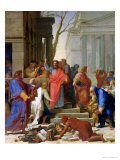 The Sermon of St. Paul at Ephesus, 1649 Giclee Print by Eustache Le Sueur