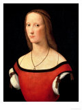 Portrait of a Woman, 1500s Giclee Print by Lorenzo Costa