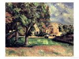 Trees in a Park, Jas de Bouffan, 1885-87 Giclee Print by Paul Cézanne