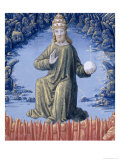 "Christ in Majesty, from the ""Book of Hours of Louis D'Orleans"", 1469 Giclee Print by Jean Colombe"