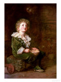Bubbles Giclee Print by John Everett Millais
