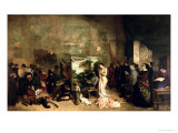 The Studio of the Painter, a Real Allegory, 1855 Giclee Print by Gustave Courbet