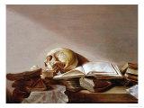 Vanitas Giclee Print by Jan Davidsz. de Heem