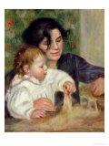 Gabrielle and Jean, circa 1895-6 Giclee Print by Pierre-Auguste Renoir