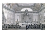 Assemblee des Notables Presided Over by Louis XVI 1787 Giclee Print by Jean-Michel Moreau the Younger