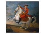 Equestrian Portrait of Louis XVI 1791 Giclee Print by Jean-baptiste Francois Carteaux