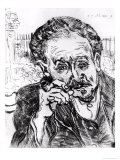 The Man with the Pipe, Portrait of Doctor Paul Gachet 15th March 1890 Giclee Print by Vincent van Gogh
