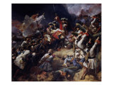 Battle of Denain, 24th July 1712, 1839 Giclee Print by Jean Alaux
