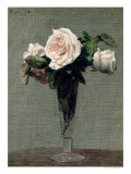 Flowers, 1872 Giclee Print by Henri Fantin-Latour