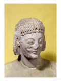 Head of the Rampin Rider, circa 550-540 BC Giclee Print by  Rampin Master