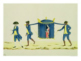 A Noblewoman Being Carried by Two Slaves Giclee Print by Carlos Juliao