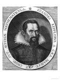 Johannes Kepler 1590 Giclee Print