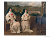 Two Nuns Giclee Print by Philippe De Champaigne