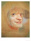 Self Portrait Giclee Print by Maurice Quentin de La Tour
