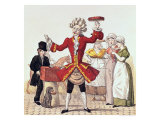 The Street Singer Giclee Print by Auguste De Valmont