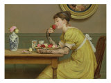 Roses Giclee Print by George Dunlop Leslie