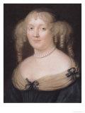 Portrait of Marie de Rabutin-Chantal Marquise de Sevigne, circa 1670 Giclee Print by Robert Nanteuil