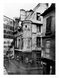 Rue Vieille-Du-Temple, Paris, 1858-78 Giclee Print by Charles Marville