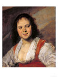 The Gypsy Woman, circa 1628-30 Giclée-Druck von Frans Hals