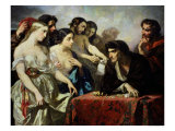 The Love of Gold, 1844 Giclee Print by Thomas Couture