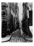 Rue Du Croissant, from the Rue Du Sentier, Paris, 1858-78 Giclee Print by Charles Marville