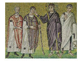 The Healing of Two Blindmen from Jericho, Scenes from the Life of Christ Giclee Print