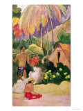 Landscape in Tahiti 1892 Giclee Print by Paul Gauguin