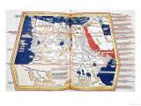 Map of Africa, Plate 18 from an Atlas of the World, 1486 Giclee Print by  Ptolemy