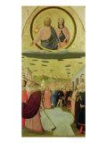 Pope Liberius Founding the Basilica of Santa Maria Della Neve Giclee Print by Tommaso Masolino Da Panicale