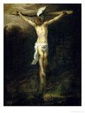 Christ on the Cross, 1672 Premium Giclee Print by Bartolome Esteban Murillo