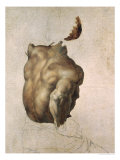 Study of a Torso for the Raft of the Medusa, 1818 Reproduction procédé giclée par Théodore Géricault