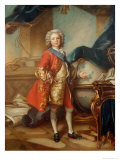 Dauphin Charles-Louis of France Giclee Print by Louis M. Tocque