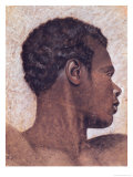 Head of a Negro Giclee Print by Théodore Géricault
