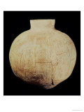 Vase with Decorative Carving, from Tell-Hassuna, 5th Millennium BC Giclee Print by  Mesopotamian