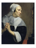 Old Woman Praying Giclee Print by Jacob Van Oost