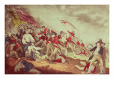 Battle at Bunker's Hill Giclee Print by  Currier & Ives