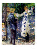 The Swing, 1876 Giclée-tryk af Pierre-Auguste Renoir
